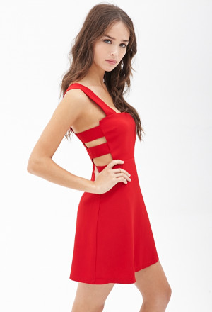 17. Forever 21 Square Neck Cutout Dress - Welcome Spring with These…