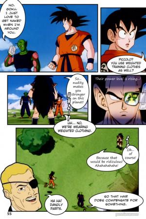 DragonBall Z Abridged: The Manga - Page 055 by penniavaswen