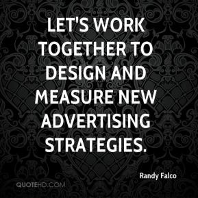 Let's work together to design and measure new advertising strategies.