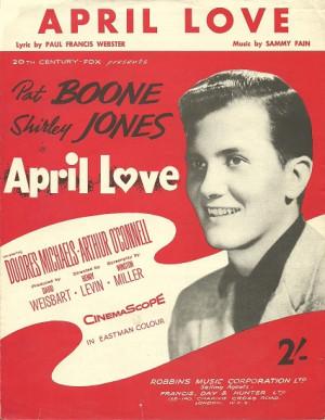 Pat Boone April Love
