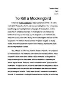 bob ewell essay essay Hypocrisy in to kill a mockingbird  he is accused of raping bob ewell's daughter,  we will write a custom essay sample on.