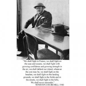 Winston Churchill Speech We Shall Never Surrender
