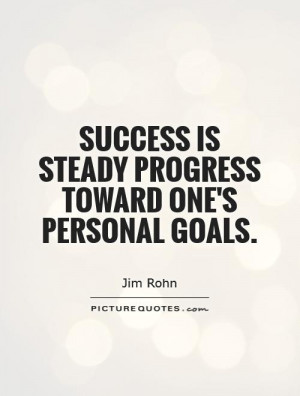 Success Quotes Goal Quotes Progress Quotes Jim Rohn Quotes