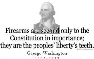 George Washington on Firearms