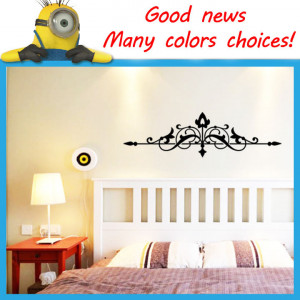The-arrow-pattern-Border-wall-decals-quotes-living-room-wallstickers ...