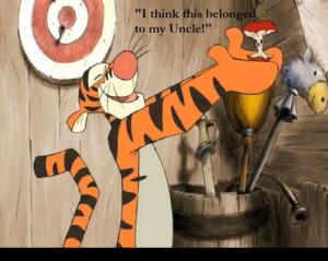Tigger Movie quote XD