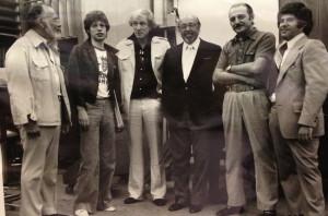 ... Atlantic's Ahmet Ertegun, Atlantic Arif Marden and the-late Jules Kurz