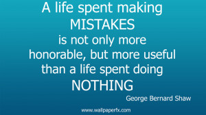 ... : Home / Other / Quotes / George bernard shaw life quote wallpaper