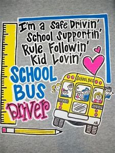 Hot-Gift-Southern-Chics-Funny-School-Bus-Driver-Sweet-Girlie-Bright-T ...