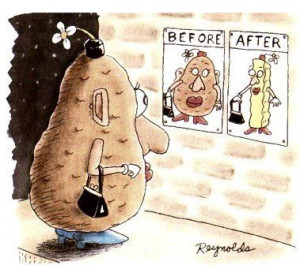 Potato – Before and after surgery