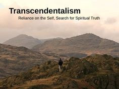 ... teachers transcendentalism powerpoint the american transcendentalists