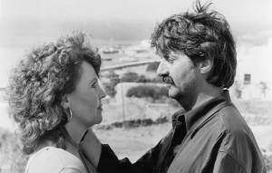 Still of Tom Conti and Pauline Collins in Shirley Valentine 1989