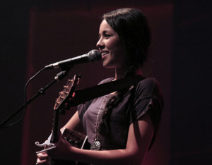 Kina Grannis in World In Front Of Me Tour