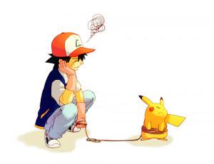 pikachu pokemon Ash