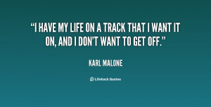 Life Off Track Quotes