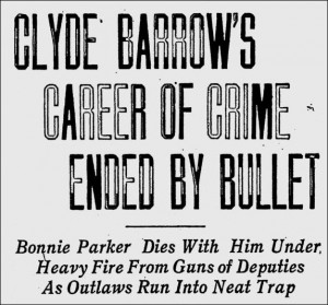 bonnie found out about clydes bonnie supplied the bonnie and clyde ...