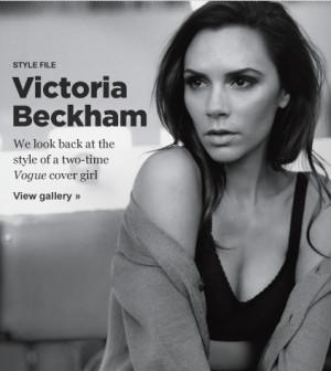 Victoria Beckham (November 2010 - November 2011)
