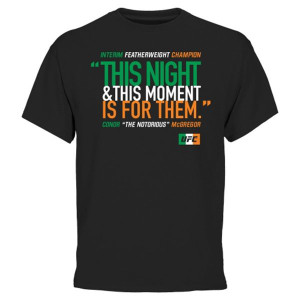 Conor McGregor UFC Champion Quote T-Shirt – CLICK HERE TO BUY