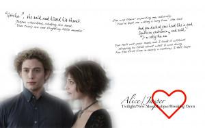 Twilight Series Alice and Jasper quotes