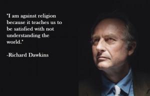 Richard Dawkins quote.