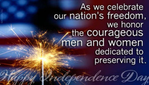 4th of July Military Quotes