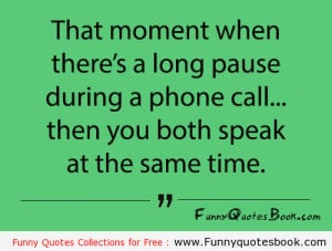 Funny Phone Call Quotes