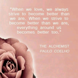 When we love #Paulo Coelho