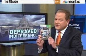 Quote of the Day: Ed Schultz Waxes Idiotic on
