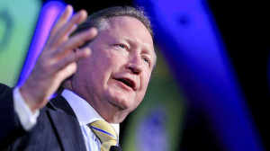 Andrew Forrest: New milestone. Photo: Glenn Hunt