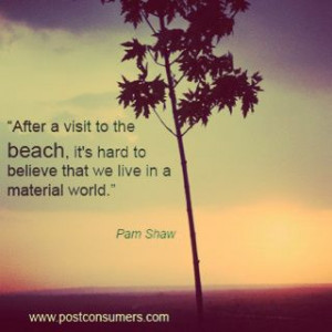 conservation quotes about the ocean | The Beauty of the Beach