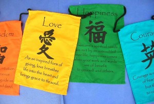 Small size prayer flag string, affirmation flags on string, Tibetian ...
