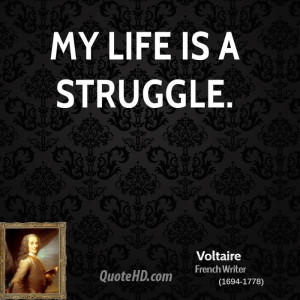 Voltaire Life Quotes Live