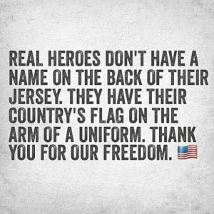 Real heroes.