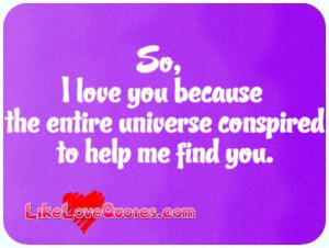 so i love you because like love quotes messages funny best sayings ...