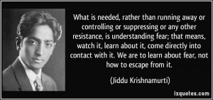 More Jiddu Krishnamurti Quotes