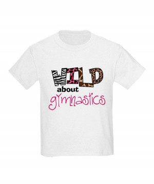 Look at this #zulilyfind! White 'Wild About Gymnastics' Tee - Toddler ...