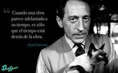 frase jean cocteau more i love cats a mini saia jeans famous quotes ...