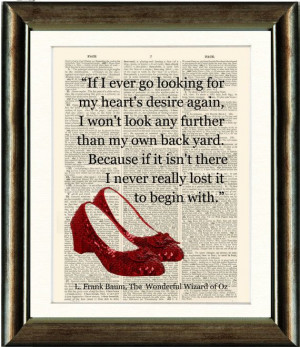 books inspirational walls of quotes ruby slippers wizards quotes ...