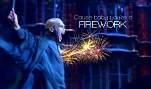 firework, funny, katy perry, voldemort