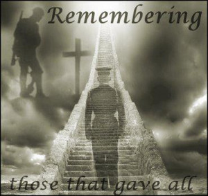 Memorial Day Tribute ~> Fallen Soldiers Remembered !!!