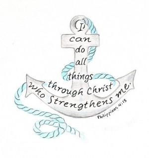 ... Bible Tattoo Quotes, Inspiration Bible, Bible Verses, Nautical Anchor