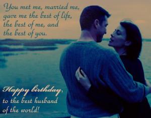 Happy Birthday To My Loving Husband Quotes Happy birthday love quotes ...