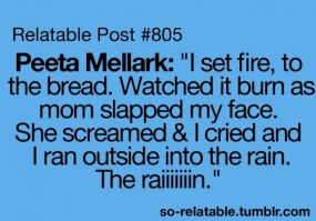 Tagged As Funny Peeta Hunger Games The Hunger Games Funny Quotes Teen