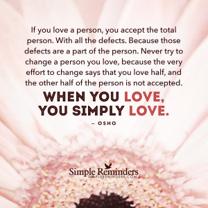 love is accepting the total person by osho love is accepting the total ...