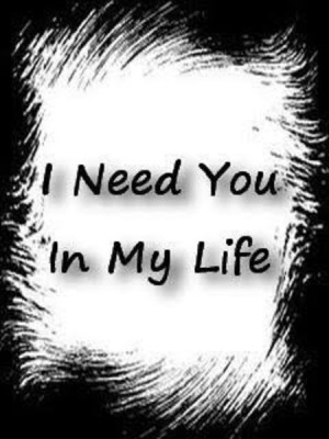 need you in my life wallaper very nice