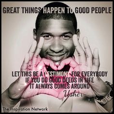 ... Usher #quote usher quotes, thing happen, life advic, inspir idea
