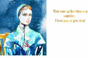 ... Illustration Book, Samantha Hahn, Literary Heroin, Hester Prynne Quote