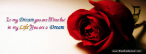 Red Rose Quotes Facebook Timeline Cover
