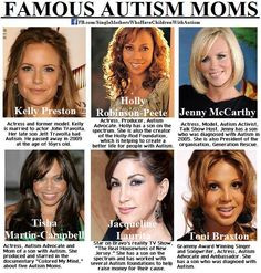 ... famous autism autism awareness autism moms autism toolkit famous