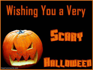 Wishing You A Very Scary Halloween